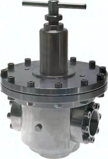 Druckregler, Kv-Wert 21,0 (m³/h), 25000 l/min