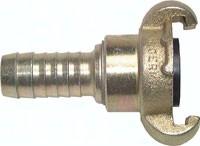 Kompressorkupplungen mit Schlauchanschluss, 360° drehbar, ähnlich DIN 3489