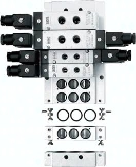 Grundplattensysteme, für Ventilbaureihe KM