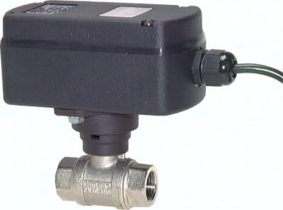 Kugelhähne mit elektrischem Schwenkantrieb (Sanitärausführung), PN 40