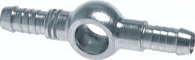Doppel-Ring-Schlauchnippel, DIN 7642