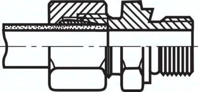 Gerade Einschraubverschraubungen (metrisch)