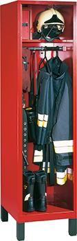 Feuerwehrgarderobenschrank (Ausführung 1) ohne Wertfach