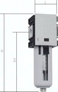 Aktivkohlefilter Futura-Baureihe