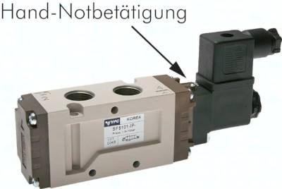 "5/2-Wege-Magnetventile G 3/8"", Baureihe SF5000"