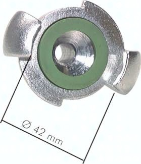Kompressorkupplungen mit Innengewinde, ähnlich DIN 3489