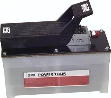 Druckluftbetriebene Hydraulikpumpen für einfachwirkende Zylinder, 700 bar