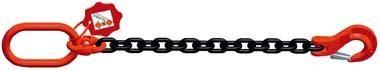 Einstrang-Kettengehänge mit schwarz lackierter Kette