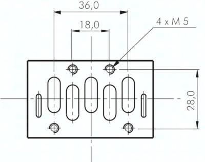 ISO-Magnetventile (ISO 5599/1), Größe 1