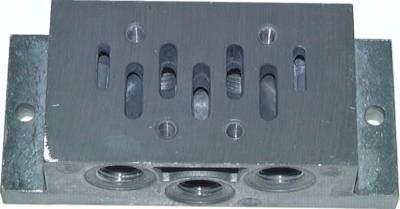 Anschlussplatten für ISO-Ventile (ISO 5599/1), Größe 1