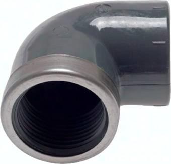 Klebe-Gewindewinkel 90° PVC-U, PN 16/10