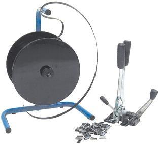Kunststoffband-Umreifungs-Set, 16 mm mit tragbarem Abroller