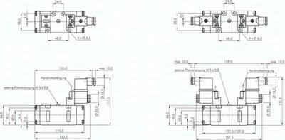 5/2-Wege-Magnetventile (ISO 5599/1), Größe 2 - Baureihe SIV500