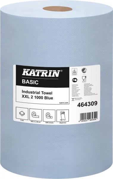K-Rolle, Papier, blau, 1000 Blatt
