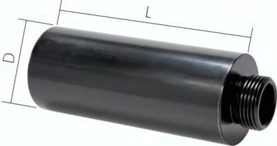 Free-Flow Schalldämpfer für Ejektoren