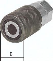 Flat-face Kupplungen mit Innengewinde, ISO 16028
