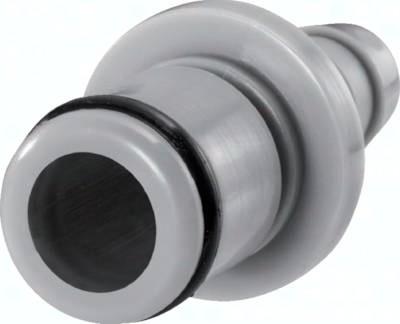 Kupplungsstecker mit Schlauchtülle und Schottgewinde Baureihe LC