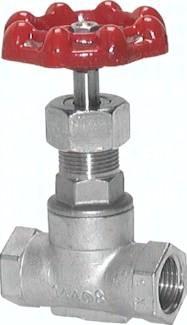 Edelstahl-Muffen-Absperrventile, PN 16