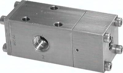 3/2- und 5/2-Wege-Pneumatikventile aus Edelstahl