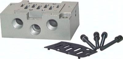 Grundplatten (ISO 5599/1), Größe 1 - Baureihe SIV400