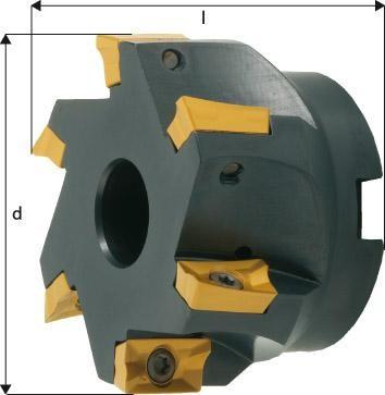 Eckmesserkopf 90° mit Innenkühlung APKT 1604