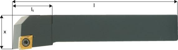 ISO-Klemmhalter 95° SCLCR/L