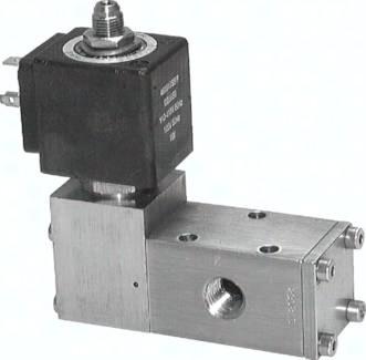 3/2- und 5/2-Wege-Magnetventile aus Edelstahl
