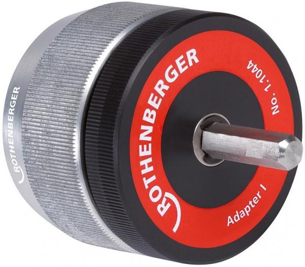 Adapter für Innen- und Außenentgrater (für Rohr-Ø 3-35 / 10-54 mm)