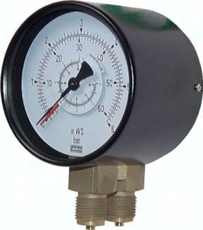 Differenzdruck-Manometer, Klasse 1.6