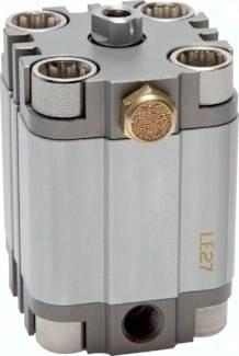 Kompaktzylinder einfachwirkend mit Magnetkolben, Eco-Line (SES)