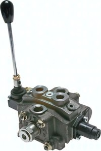 Handhebelventile in modularer Bauweise|bis 50 l/mi