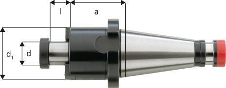 Aufsteckfräsdorn DIN 2080