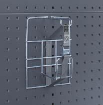 Kabelhalter mit Gurt für perfo-Lochplatten