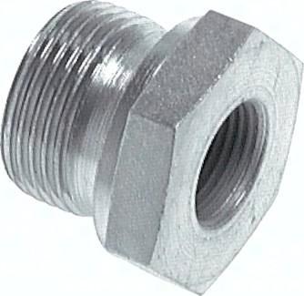 Hydraulik-Gewindereduzierungen mit zylindrischem Innen- und Außengewinde, bis 630 bar
