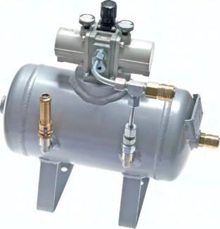 Druckübersetzer pneumatisch, bis 20 bar