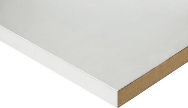 Höhenverstellbarer Arbeitstisch (760-1080 mm) mit Funktionsunterbau Tom, Stahlblechbelag-Platte