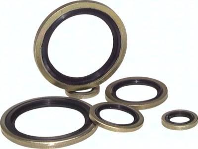 Hydraulik-Dichtringe mit NBR-Einlage (selbstzentrierend)