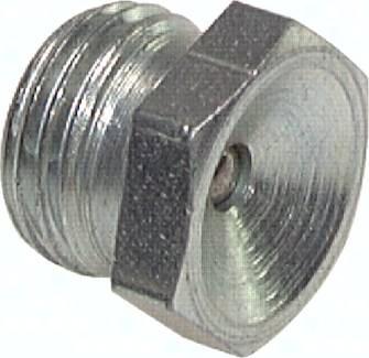 Gerade Trichterschmiernippel, DIN 3405 A