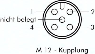 Kabelsätze mit Kupplungen M 12 x 1 (4- & 5-polig)
