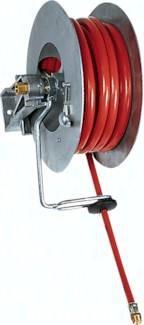 Automatische Schlauchaufroller für Druckluft und Wasser, bis 15 bar