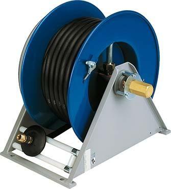 Automatischer Schlauchaufroller mit Federrückzug für Öl, Wasser, Druckluft , mit Schlauch BScH 137